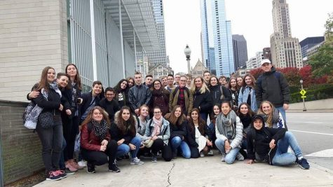 French Exchange Students Visit America