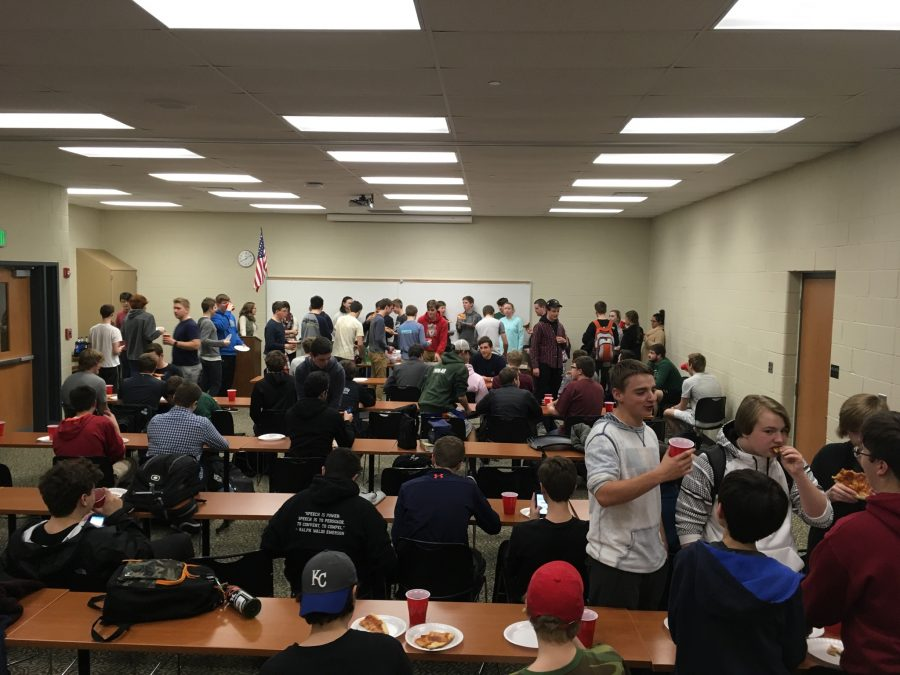 The First Meeting of Young Republicans Club