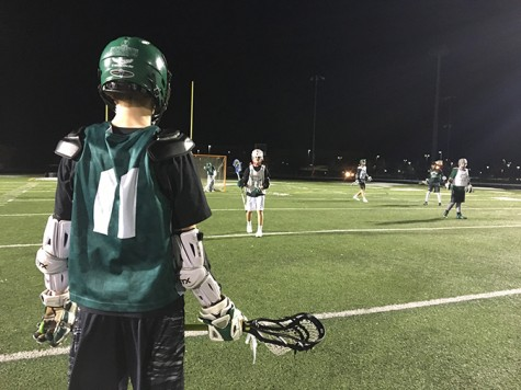 Lacrosse Team Takes on Wintry Conditions