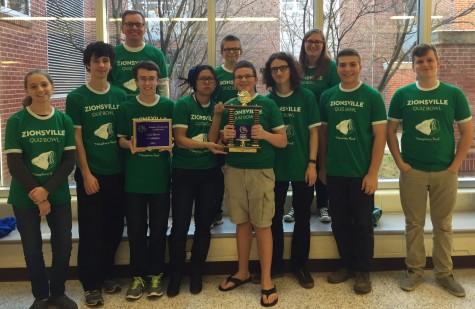 ZCHS Quiz Bowl Team Wins Tournament