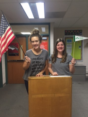 Talk2Us: Marissa and Claire Become Presidents of the School