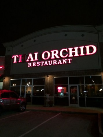 Outside view of Thai Orchid
