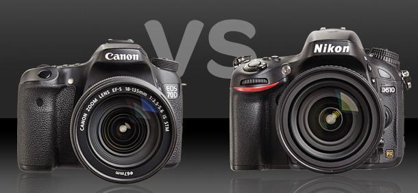 Nikon+vs.+Canon