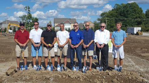 Tennis Center Breaks Ground