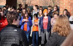 ZCHS Students Partake in National Walk Out