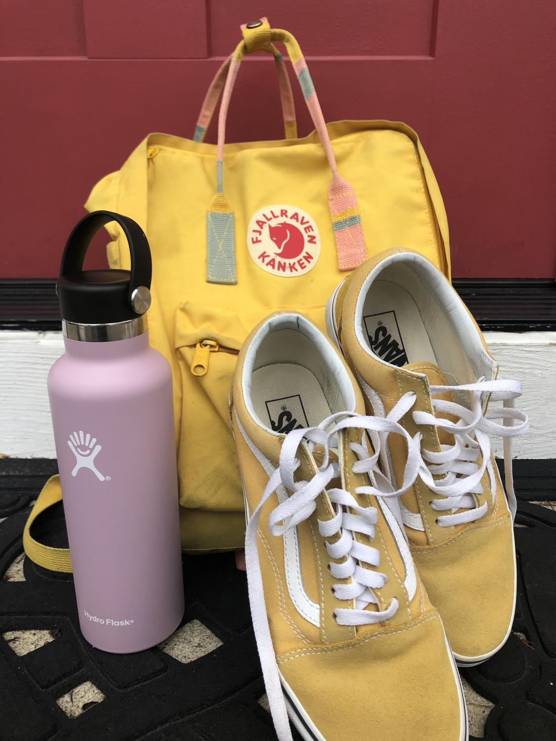 Vans, Hydro Flasks, and Kånken backpacks are just a few of the trends of 2019. Photo from Jillian Bond.