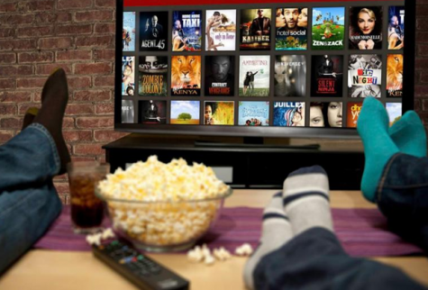 Watching shows is a part of an every day routine for many people. Photo from Wi-FIndings. http://blog.dlink.com/how-to-binge-watch-tv-the-safe-and-smart-way/