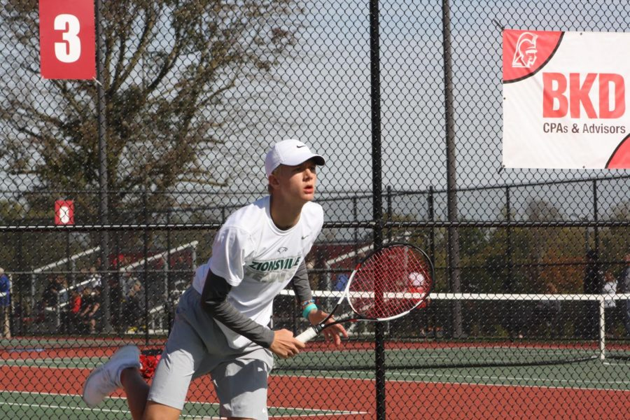 Boys Tennis Postseason Ends at State